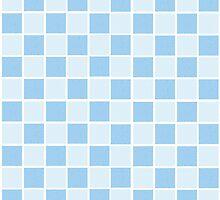 Blue Gingham by elledeegee