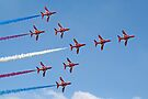 Concorde - The Red Arrows - Dunsfold 2013 by Colin  Williams Photography