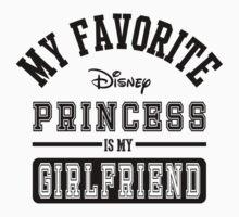 My favorite disney princess is my Girlfriend by SameDifference
