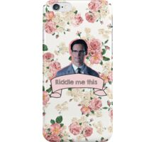 Edward Nygma- Gotham iPhone Case/Skin