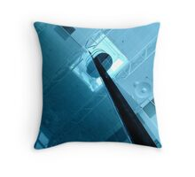 Up to the Blue Throw Pillow