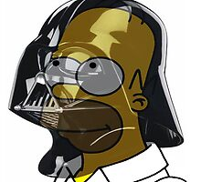 Darth Homer by Paddy  Marsh