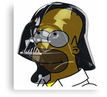 Darth Homer Canvas Print