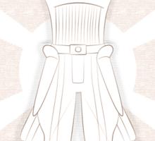 Vitruvian Inquisitor Sticker
