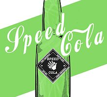Speed Cola - Poster by CallumGardiner