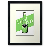 Speed Cola - Poster Framed Print
