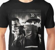 Rap hiphop gangsters black and white analog silver gelatin photo Unisex T-Shirt