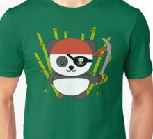 Pirate Panda Unisex T-Shirt