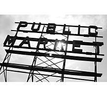 Public Market Photographic Print