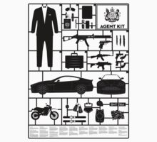 Secret Agent Kit T-Shirt