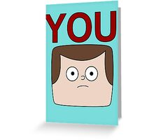 A Jeff is You Greeting Card