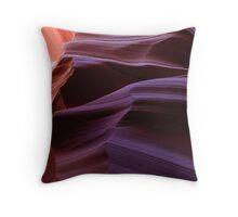 Rock Waves Throw Pillow