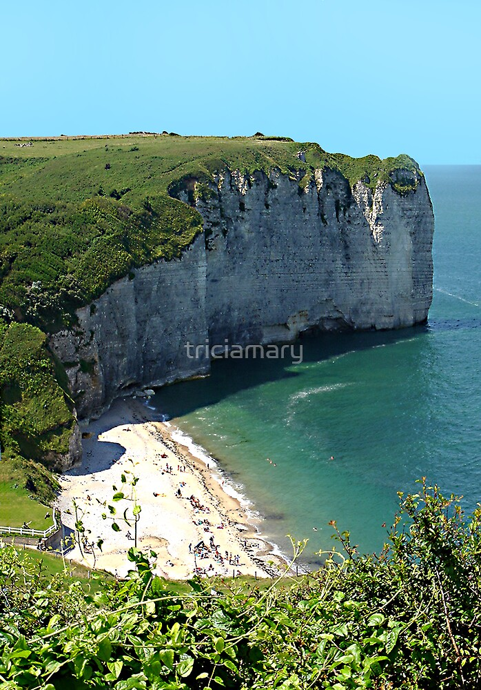 Normandy coast by triciamary