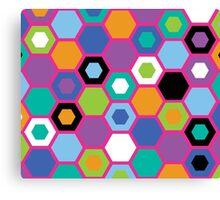 Multi-Color Matrix Canvas Print