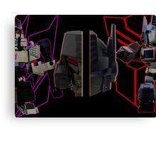 Prime vs Megatron Canvas Print