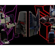 Prime vs Megatron Photographic Print
