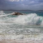 Breaking Waves Albany Whaling Station - WA by Colin  Williams Photography