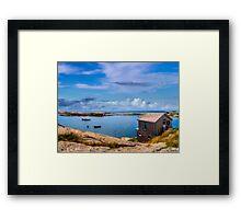 Calm Summer Day in Prospect Framed Print