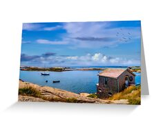 Calm Summer Day in Prospect Greeting Card