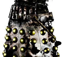 Destroyed Necros Dalek by Chris Singley
