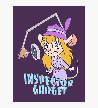 Inspector Gadget Photographic Print