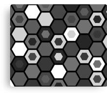 Black and White Matrix Canvas Print
