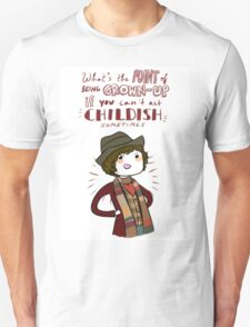 Fourth Doctor Quote T-Shirt