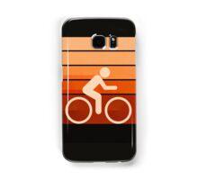 Biking Orange Samsung Galaxy Case/Skin