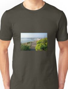 Harbour Overview From The Gardens Unisex T-Shirt
