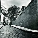 A street in Prague by bbtomas