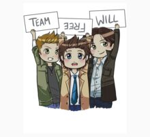 Chibi Team Free Will Ver. 2 by ScissorCrazy