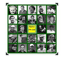 The Masters 1974-2012 by cordug