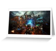 Heroes Of the Storm - Battle Greeting Card