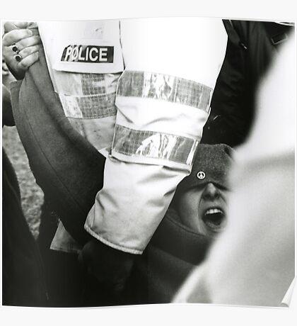 Arrest in peace Poster