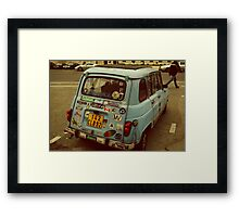 Sticker Bug Framed Print