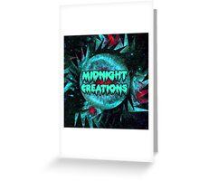 Midnight Creations Logo Greeting Card