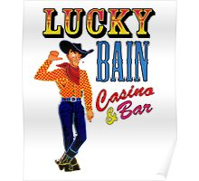 Lucky Bain Casino & Bar Poster