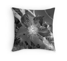 The Anti-Blossom Throw Pillow