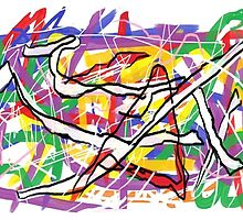 Ecstatic Dancers (original version) by Jana Gilmore