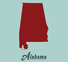 Alabama - States of the Union by Michael Bowman