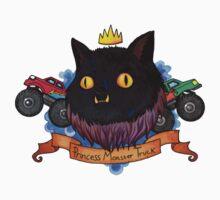 Princess Monster Truck T-Shirt