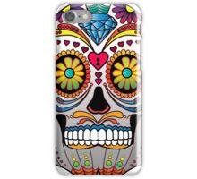 Sugar Skull w/no background 1 iPhone Case/Skin