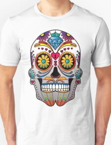 Sugar Skull w/no background 1 Unisex T-Shirt