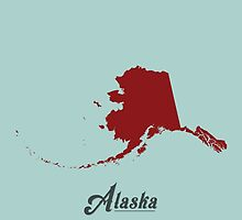 Alaska - States of the Union by Michael Bowman