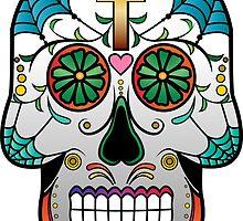 Sugar Skull w/no background 2 by kennasato