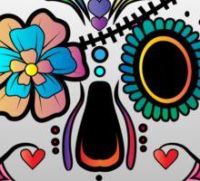 Sugar Skull w/no background 3 Sticker