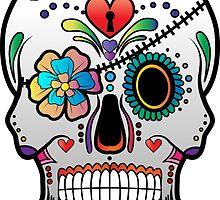 Sugar Skull w/no background 3 by kennasato