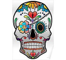 Sugar Skull w/no background 3 Poster