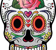 Sugar Skull w/no background 4 by kennasato