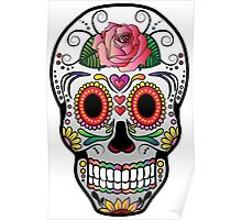Sugar Skull w/no background 4 Poster